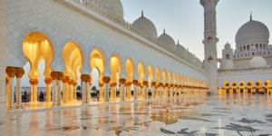 Maerz 2014 · Scheich-Zayid-Moschee in Abu Dhabi