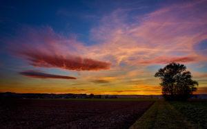 Sunset in Eutingen