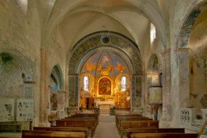 Kirche von Oppède Le Vieux